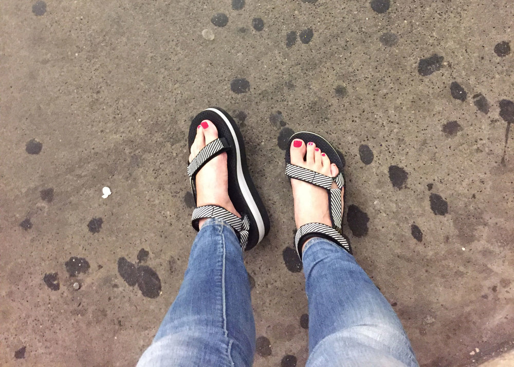 The only shoes filthy NYC sidewalks truly deserve.