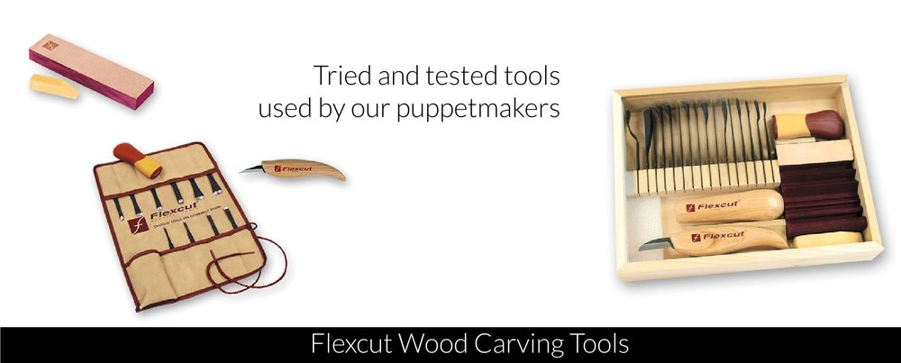 puppet carving tools
