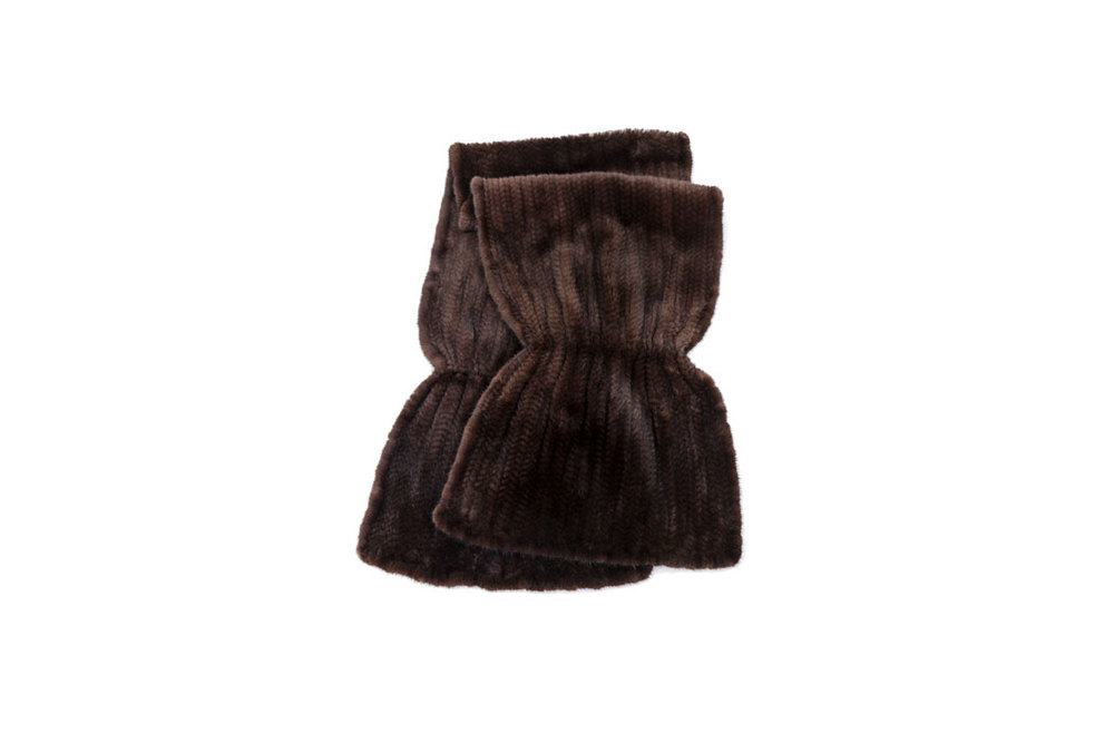 Knitted Mink Wrap $3,200