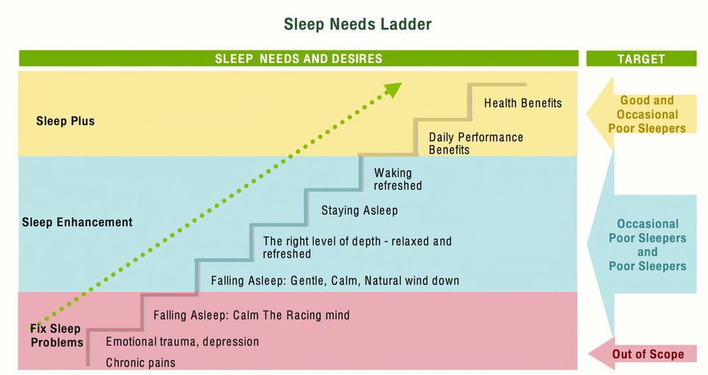 sleep needs ladder