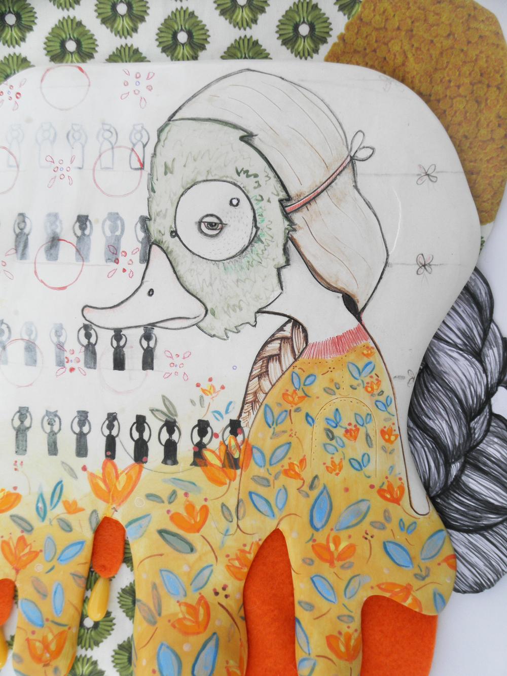 Azabache detail