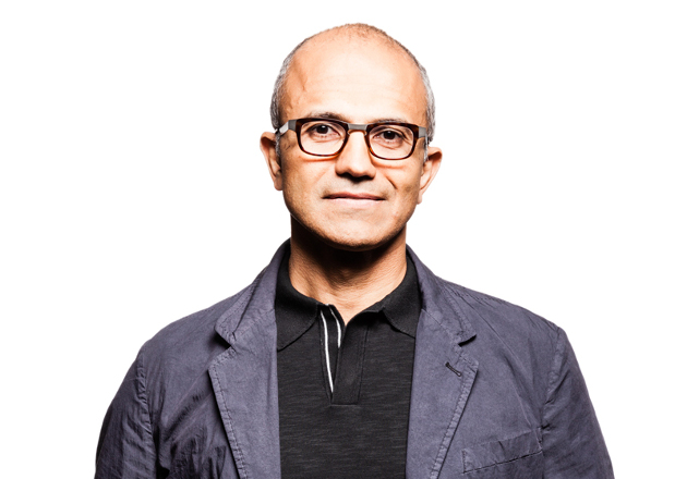 Satya Nadella, the 3rd CEO in Microsoft's history.