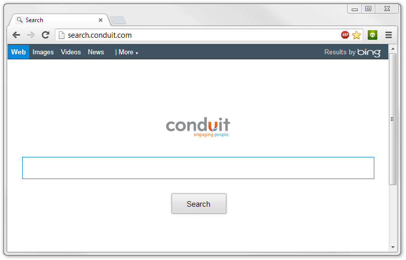 Search Conduit, one of the most ubiquitous search hijackers on the web...