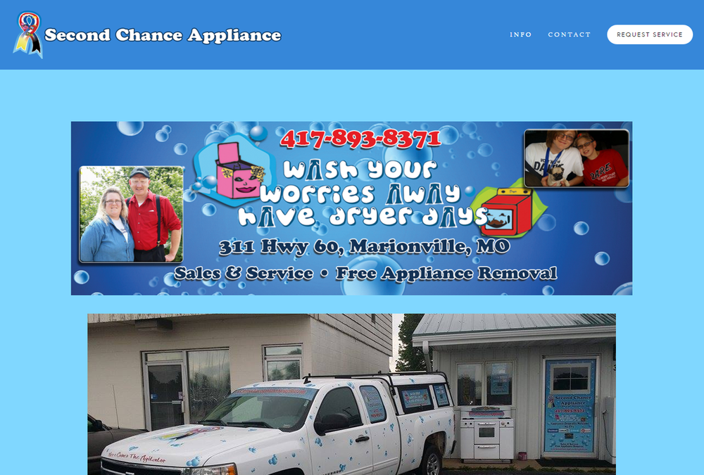 SECOND CHANCE APPLIANCE