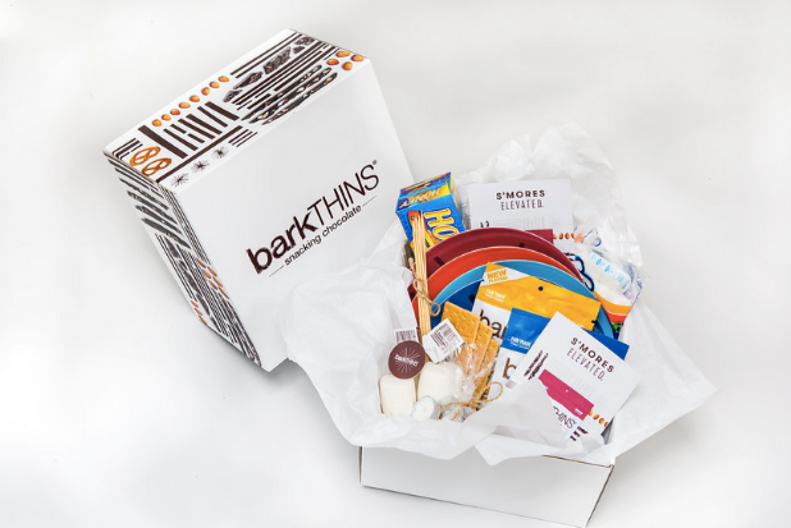 barkTHINS - S'mores Elevated Seeding KitBarkThins asked us to develop a unique way to seed their delicious chocolatety snack.  We took it back to our youthful roots and created a S'mores kit that came complete with all the necessary items for an elevated snacking experience.
