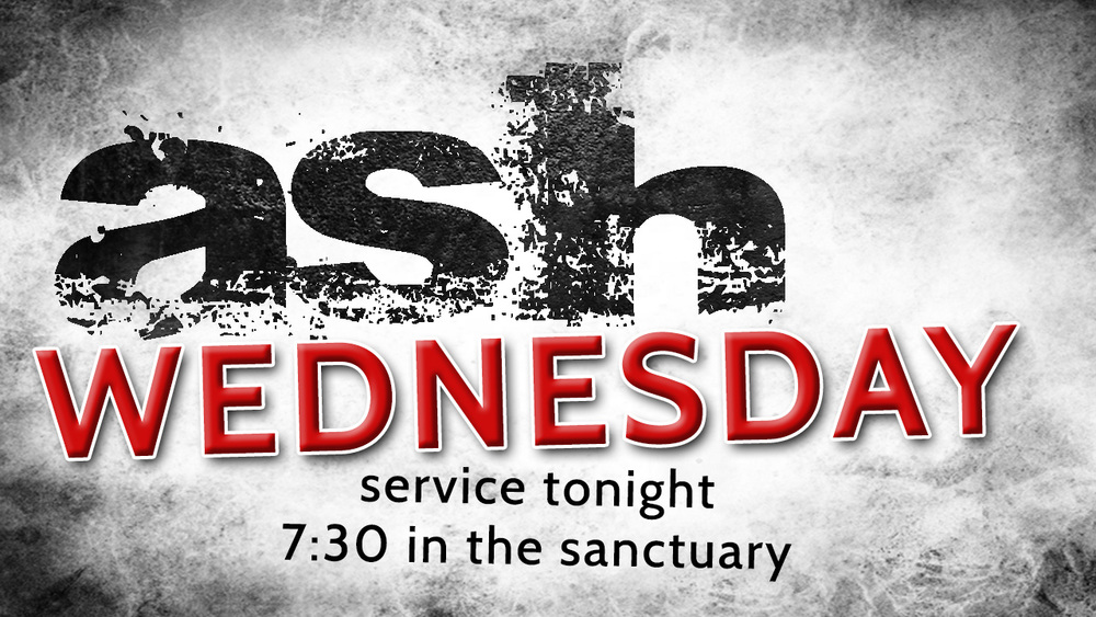 ash wed today first methodist church cedar falls iowa