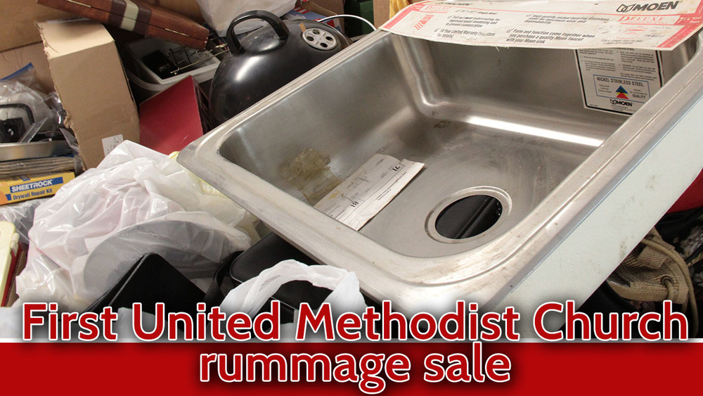 rummage sale first methodist church cedar falls ia 2