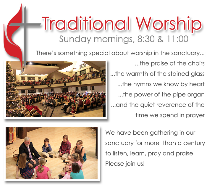 traditional worship first methodist church cedar falls iowa