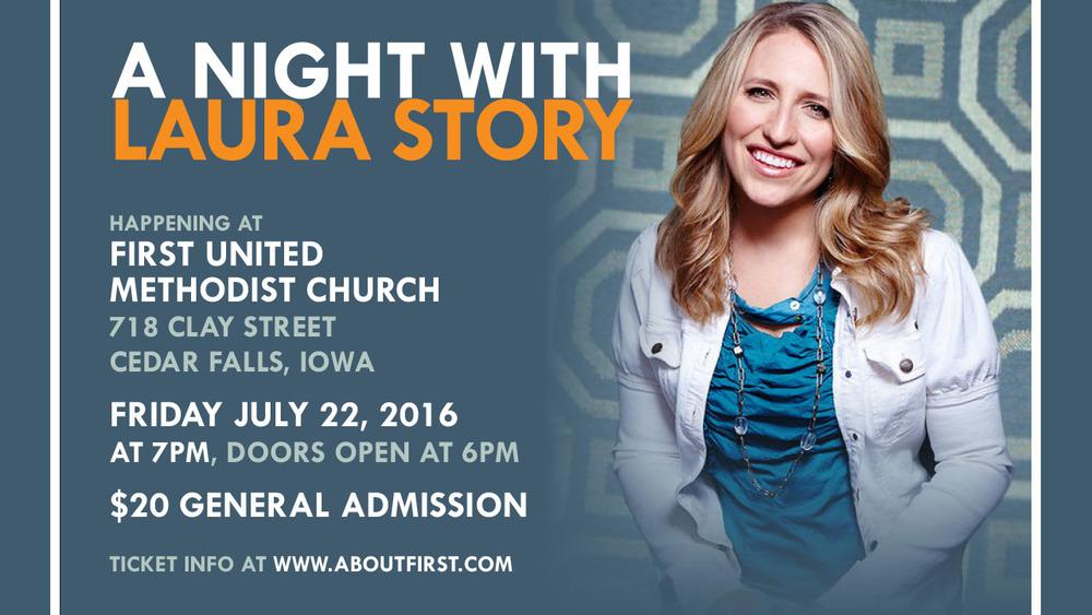 laura story at first methodist church cedar falls iowa