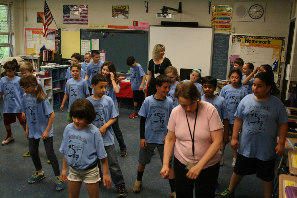 "4th Grade ""Dance Inspiration"" with Sandy Goldbeck"