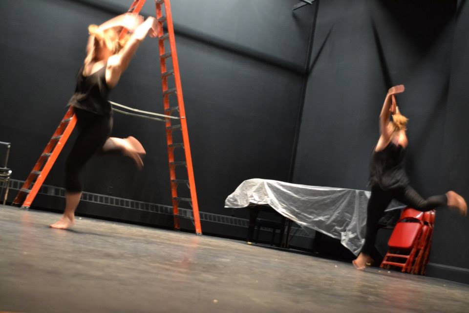 exploration in movement as empowerment, Choreographed by Samantha Dedian