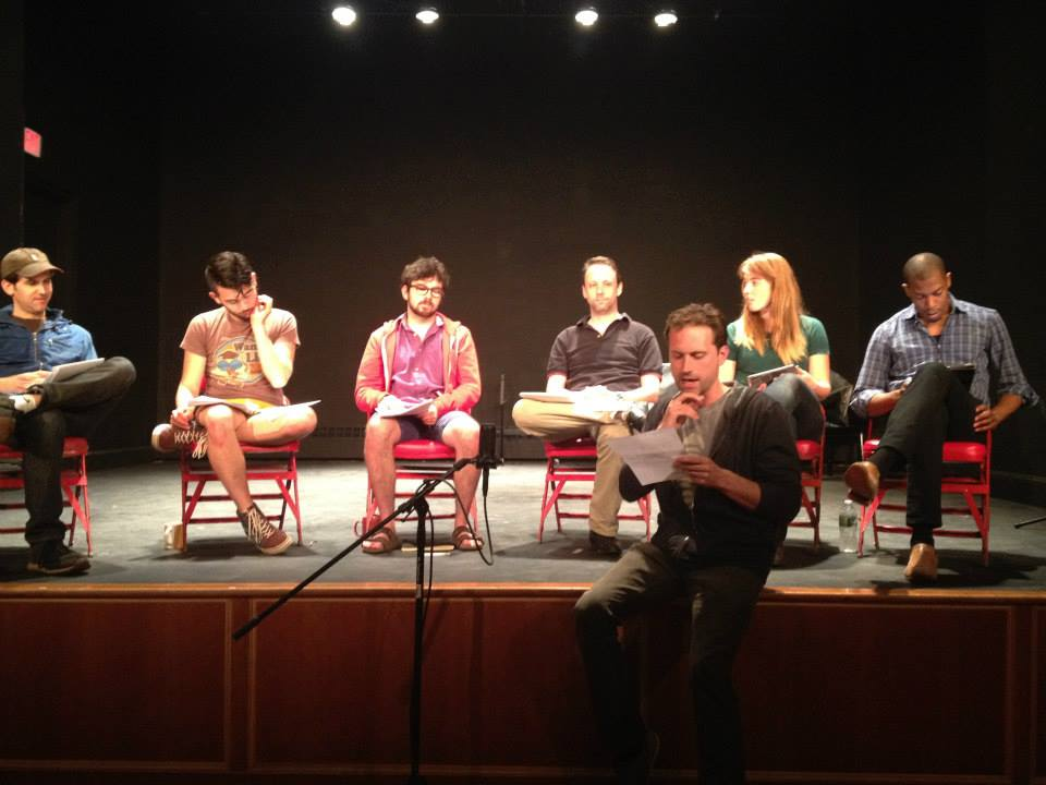 reading a new play by  Zayd Dohrn