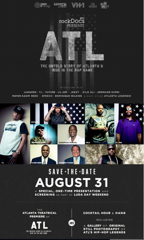 DJ'ed The VH-1 Documentary Screening for ATL Rise at The Infamous Rialto Theater