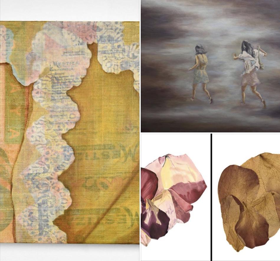 Rea Lynn de Guzman, Cherisse Alcantara, Edith Hillinger