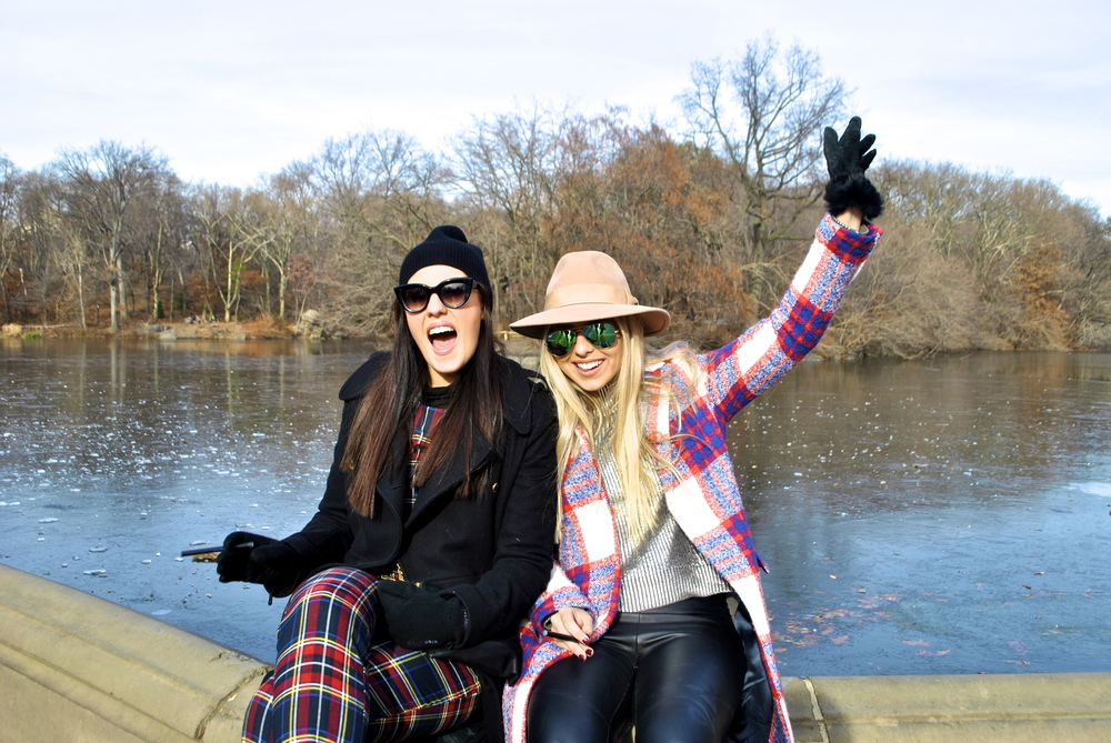 Central Park... the happiest place on earth.