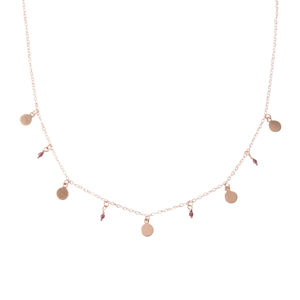 Constellation necklace, $108