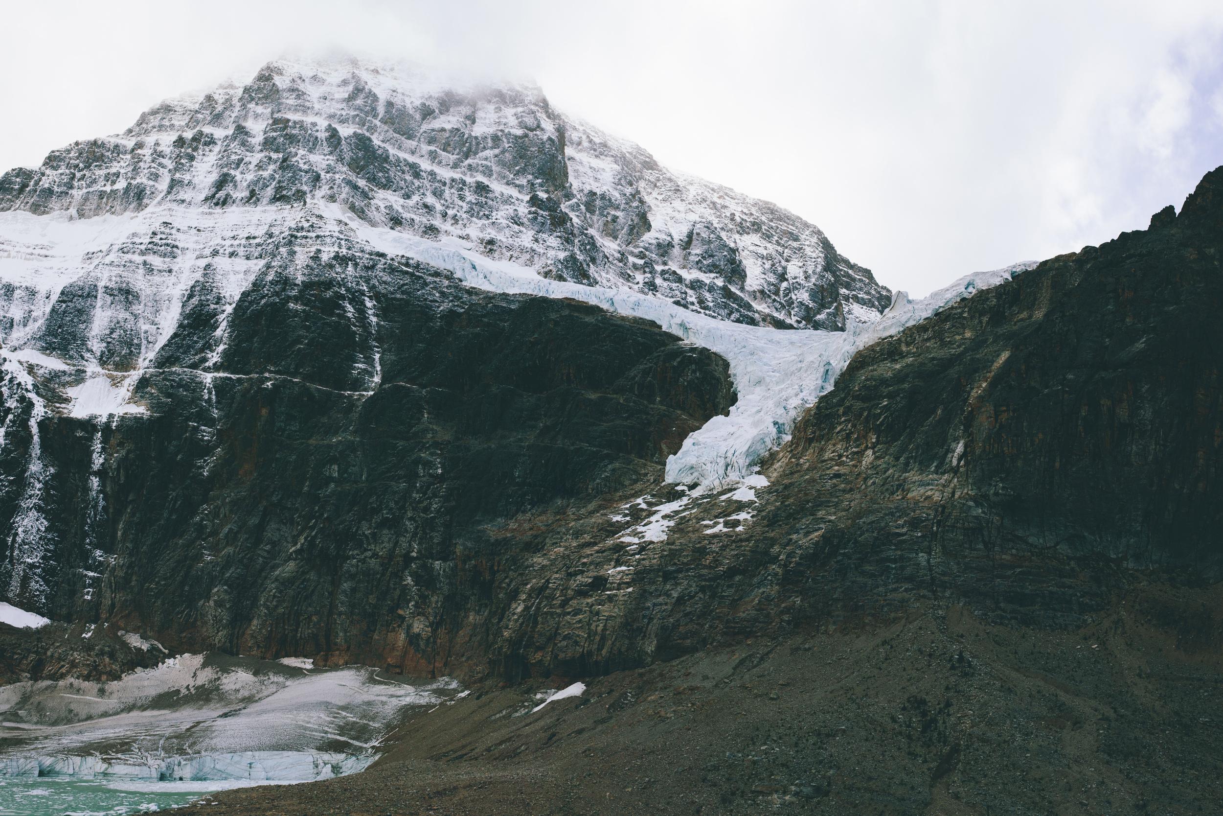 cavell glacier 2