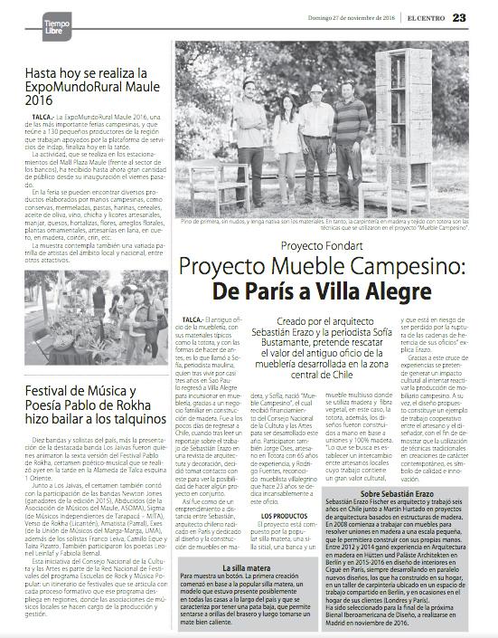 > 27-11 | Diario EL CENTRO