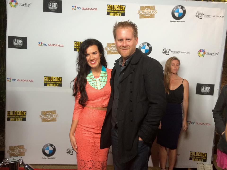 AWAKEN Premiere - Natalie Burn and Brian Ralston
