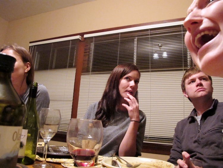 February 12, 2011   Dinner party conversations.