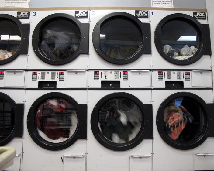 February 13, 2011   Laundry mat.