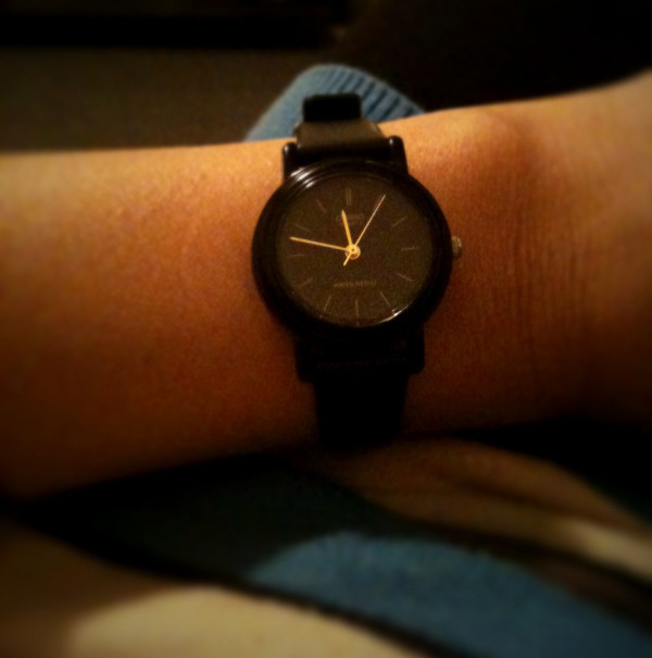 March 31, 2011   New watch.