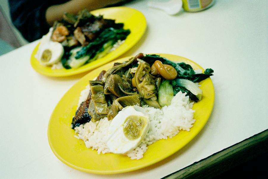 Everyday food in Hong Kong.