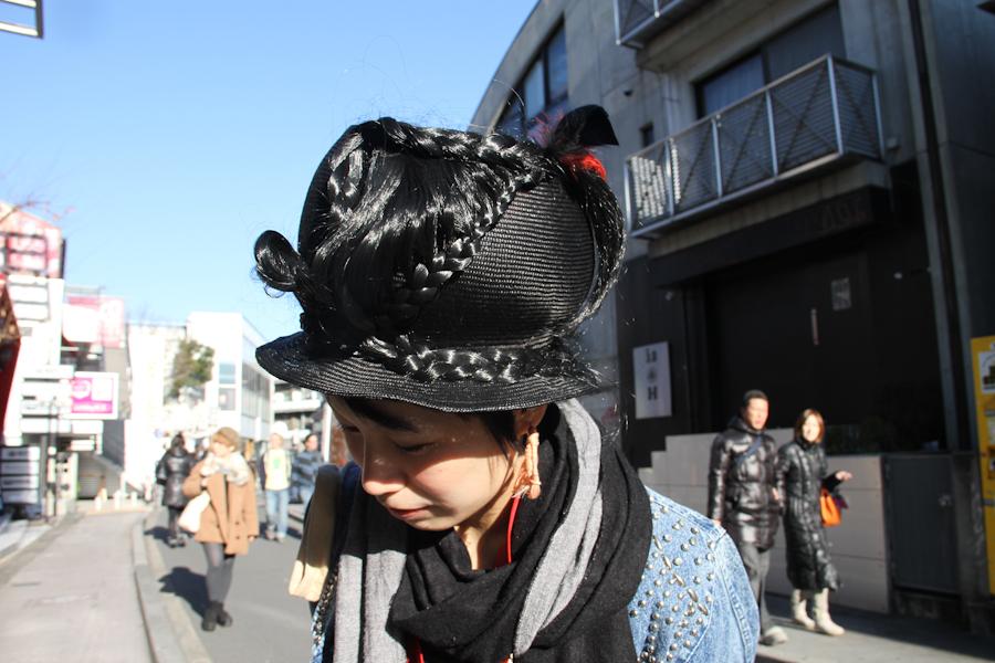 Iyo's hat.