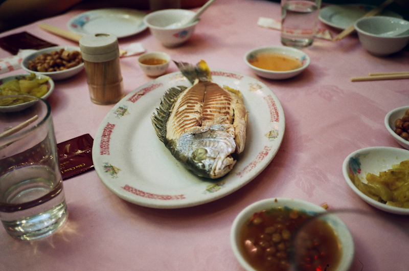 Fish, Chinese style.