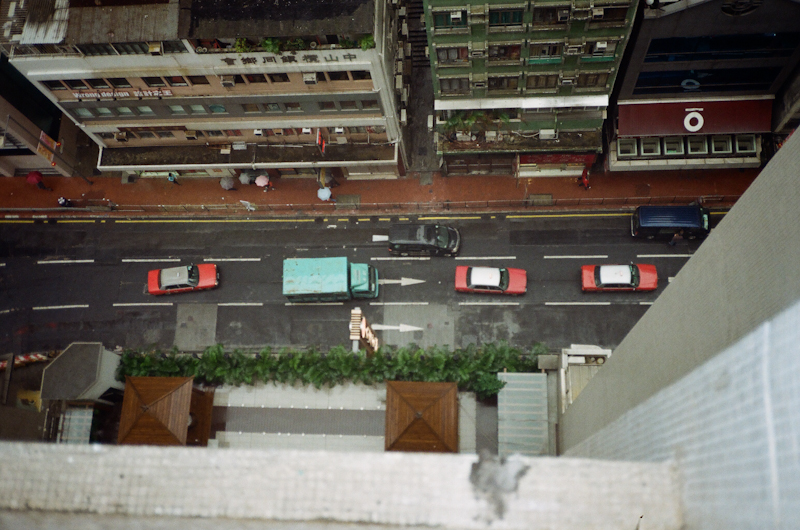 The view from the 17th floor of my Sheung Wan apartment.