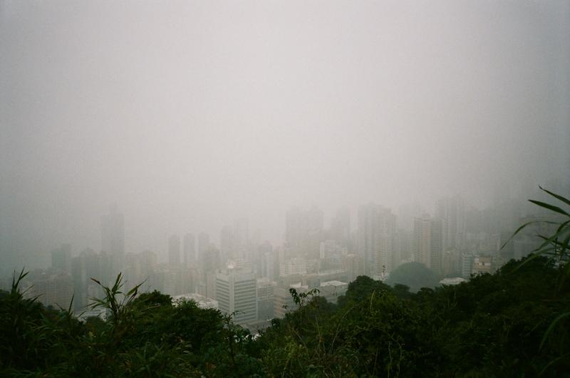 Foggy Hong Kong