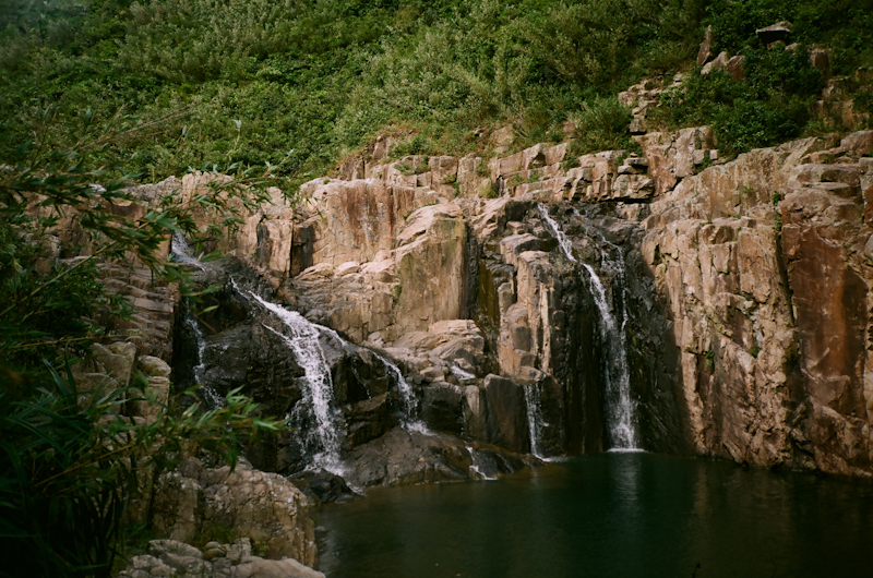 Waterfall in Sai Kung.