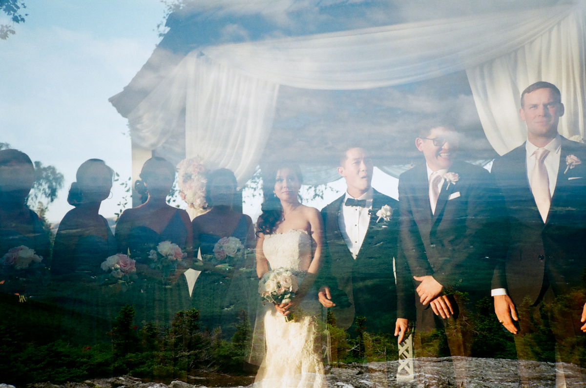 Los Angeles wedding + Mount Mansfield in Vermont.