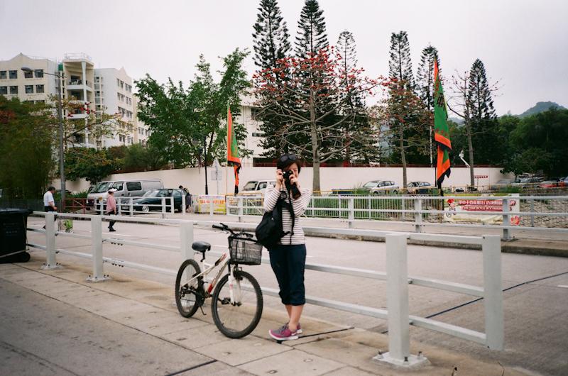 Yashica twin. Mui Wo, Lantau