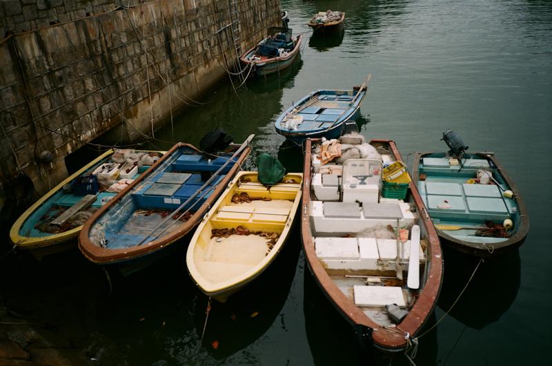 Boats. Mui Wo, Lantau
