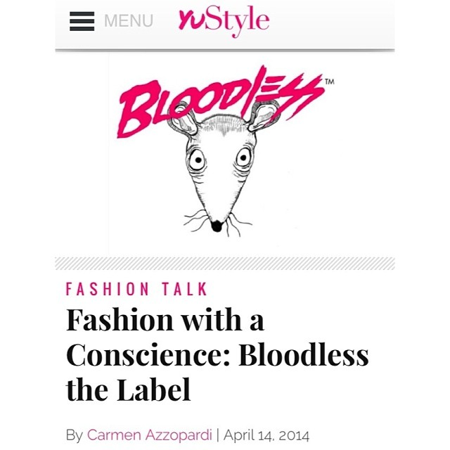 A sneaky write up on Bloodless. Thanks for the love @yustyleaus