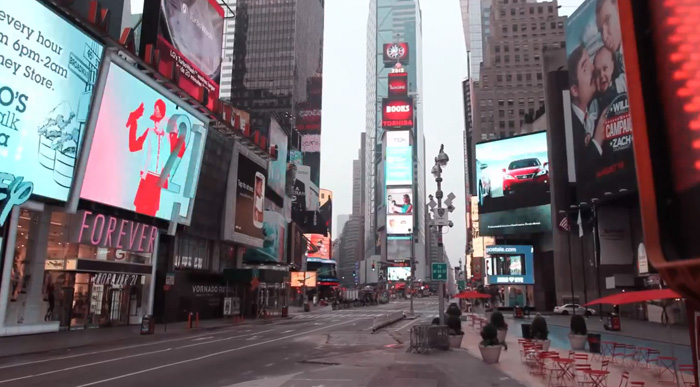 NEW YORK CITY TIMELAPSE (EMPTY AMERICA) — fullinsight