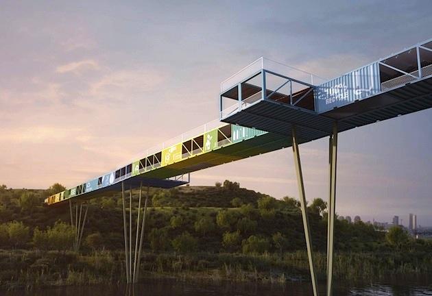 Massive-Modular-Shipping-Container-Bridge-1