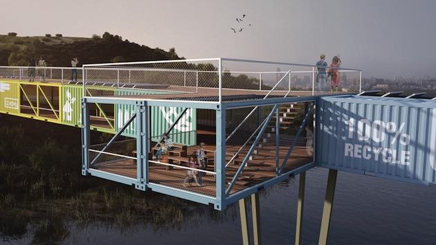 Massive-Modular-Shipping-Container-Bridge-2