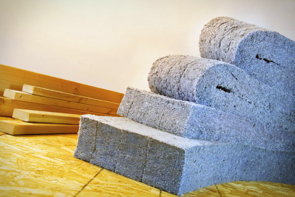 Cool materials recycled denim insulation fullinsight for Eco friendly house insulation