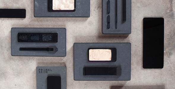 Designed to redefine a new sense of what it means to be masculine, the Dutch Design Academy graduate, has created a make-up collection for men with raw, organic packaging.   Read More