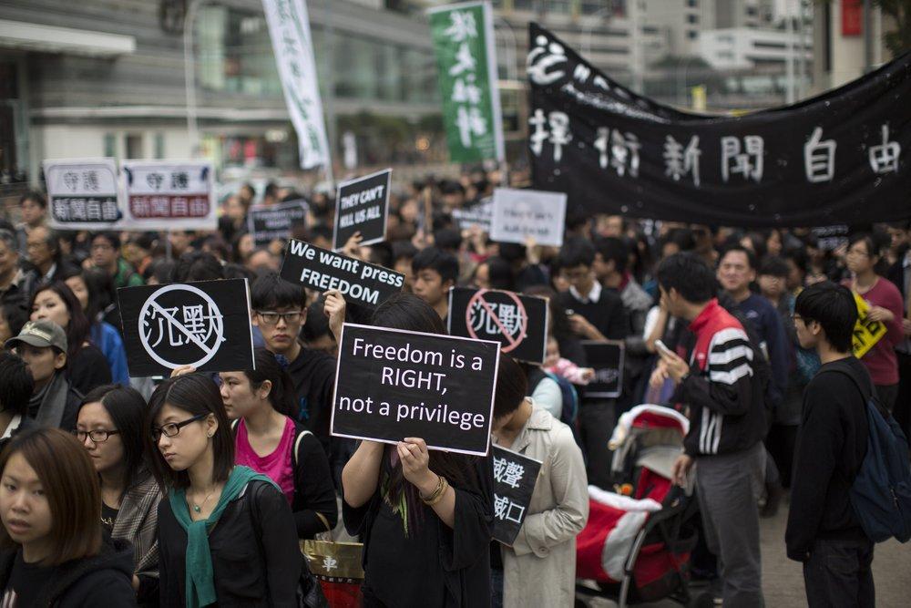 Hong Kong protests, Oktober 2014