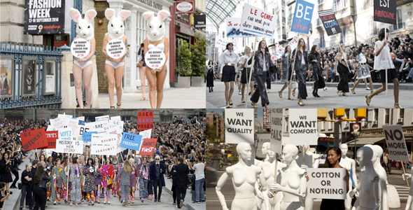 Protests in fashion