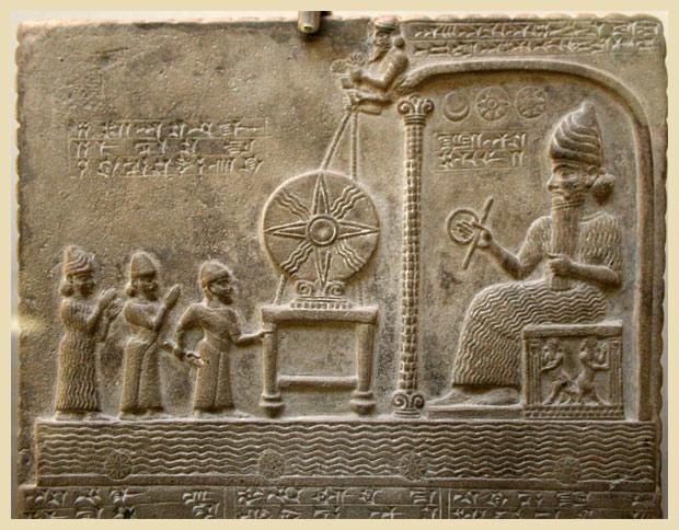 Sumerian relief 3000 BC