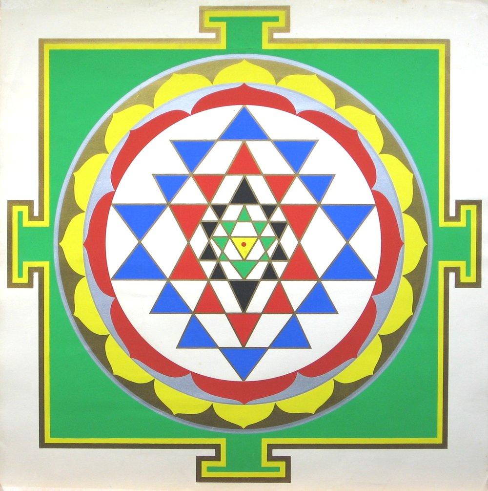 Sri Yantra by Harish Johari