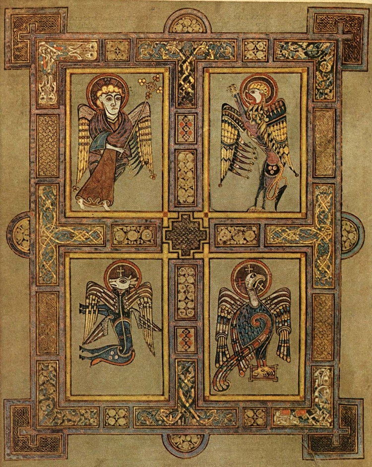 In the Book of Kells