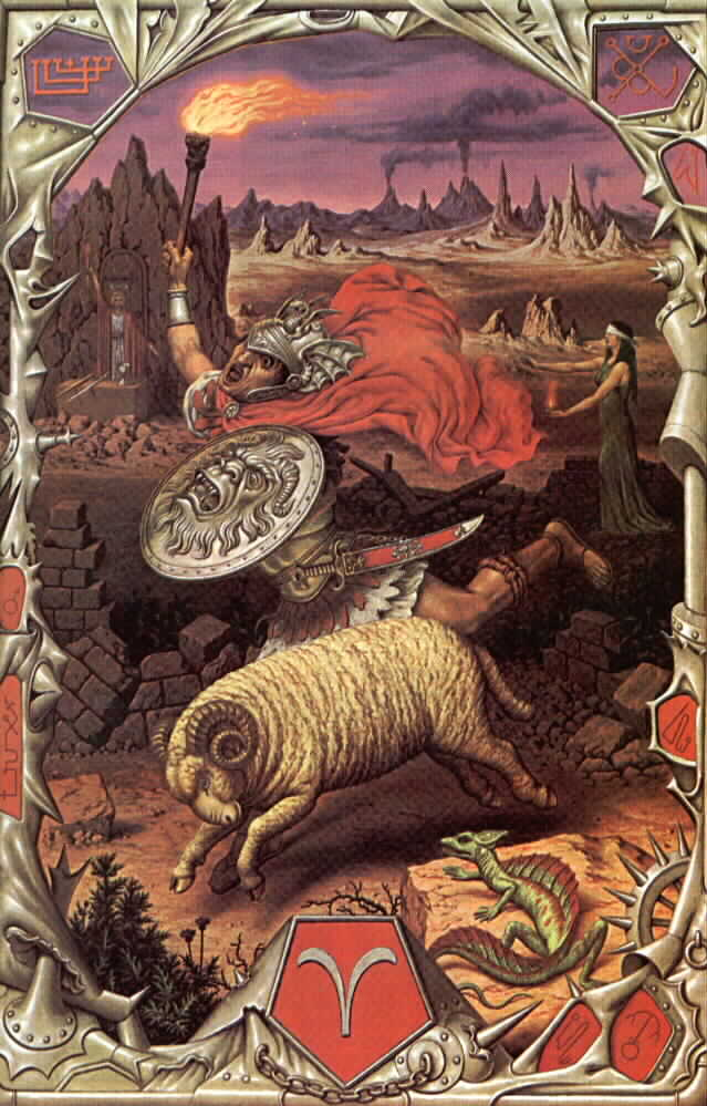 Aries by Johfra Bosschart