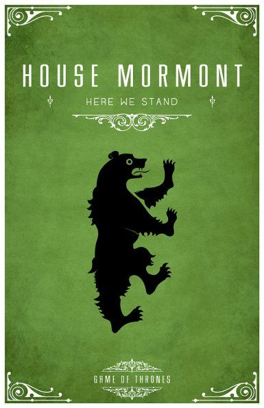 The house of my new favorite Lyanna Mormont.