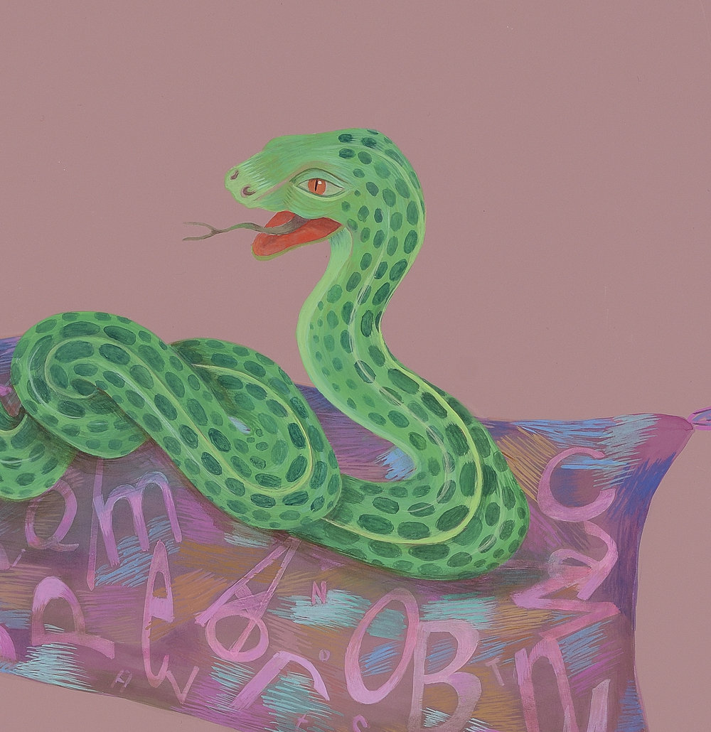 Snake based on Laocoön and His Sons