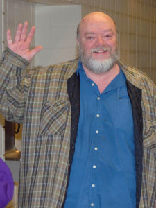 Russ at the Waukesha premiere of  Rodents  in 2010